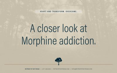 A Look At Morphine Addiction